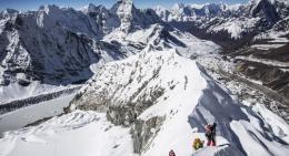 Climbing the Ridge