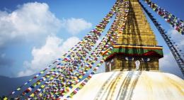 Swyambhu Nath Stupa in Kathmandu