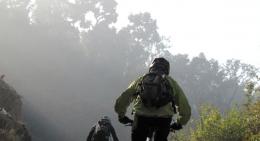 An early morning ride near Dhulikhel