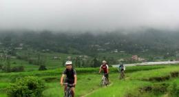 Biking the Lush Green Villages