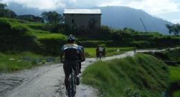 Cycling to Nagarkot