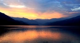 Sunset-Pokhara