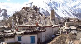 Manang-village