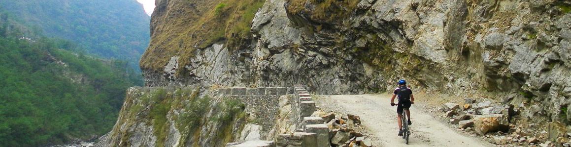 Mountain Biking Muktinath