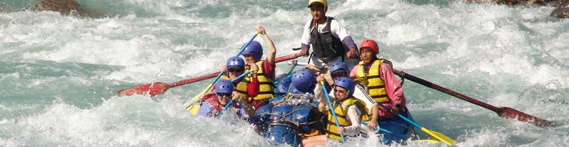 Rafting in the Bhote Koshi River