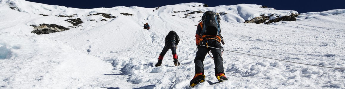 Everest Base Camp with Island peak