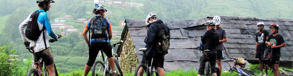 Biking Around the Kathmandu Valley