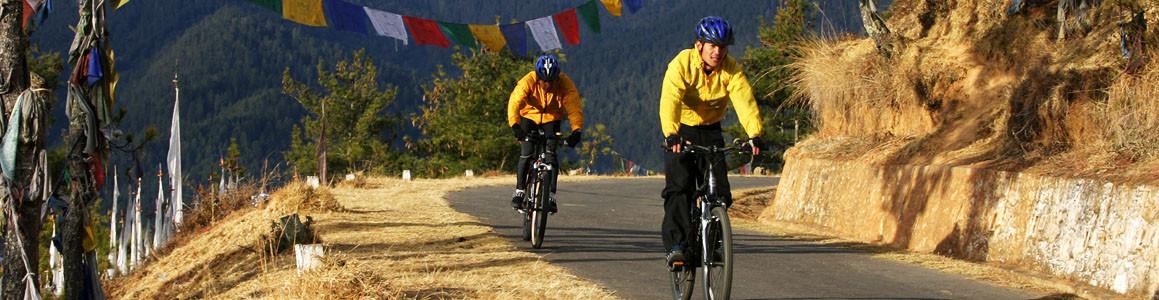 Bhutan Biking