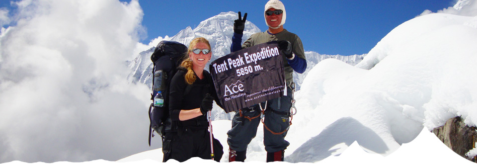 & Tent Peak Climbing