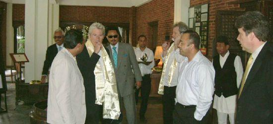 Richard Gere in Nepal