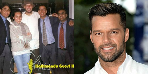 Ricky Martin in Kathmandu, Nepal