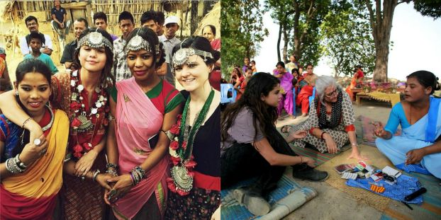Selena Gomez in Nepal on UNICEF-supported visit